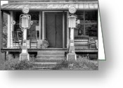 Back Porch Greeting Cards - The Price was Right Greeting Card by JC Findley