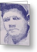 Robbi Musser Greeting Cards - The Pride of the Yankees Greeting Card by Robbi  Musser