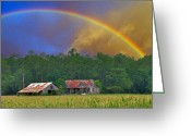 Abandoned Houses Greeting Cards - The Promise Greeting Card by Jan Amiss Photography