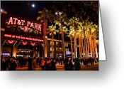 Att Baseball Park Greeting Cards - The Public House Greeting Card by Rick DeMartile
