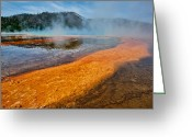 Hot Springs Greeting Cards - The Purgatory Greeting Card by Dan Mihai