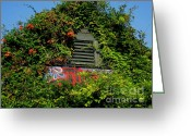 Grayton Beach Greeting Cards - The Red Bar Greeting Card by Jan Prewett