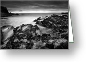 Sea Scape  Greeting Cards - The Reef Greeting Card by Andy Astbury