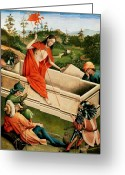 Resurrected Greeting Cards - The Resurrection Greeting Card by Johann Koerbecke