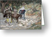 Tissot Greeting Cards - The Return from Egypt Greeting Card by Tissot