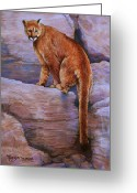 Realistic Pastels Greeting Cards - The Return Greeting Card by Tanja Ware