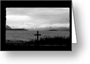 Lake Tekapo Greeting Cards - The Right Outlook Greeting Card by Jan Lawnikanis