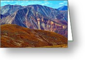 Brian Kerls Greeting Cards - The Rockies Greeting Card by Brian Kerls