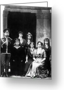 Russian Revolution Greeting Cards - The Romanovs Greeting Card by Science Source