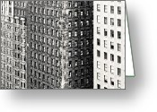 Philadelphia Greeting Cards - The Rugged Skyscrapers Of Philadelphia Greeting Card by Tyler Finck www.sursly.com