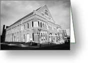Nashville Greeting Cards - The Ryman Auditorium former home of the Grand Ole Opry and gospel union tabernacle Nashville Greeting Card by Joe Fox