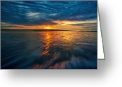 Huahin Greeting Cards - The seascape huahin thailand Greeting Card by Arthit Somsakul