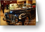 Vehicles Digital Art Greeting Cards - The Showroom - 7D17425 Greeting Card by Wingsdomain Art and Photography