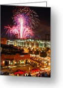 Illuminations Greeting Cards - The Showstopper Greeting Card by Kevin Munro