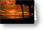 Bonnes Eyes Fine Art Photography Greeting Cards - The Sky is Burning Greeting Card by Bonnes Eyes Fine Art Photography