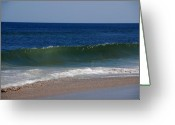 Florida Beaches Greeting Cards - The song of the ocean Greeting Card by Susanne Van Hulst
