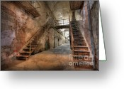 Dilapidated Greeting Cards - The Sound of Silence Greeting Card by Lori Deiter