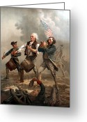 Flag Day Greeting Cards - The Spirit of 76 Greeting Card by War Is Hell Store