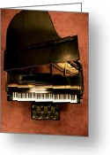 Steinway  Greeting Cards - The Steinway M Greeting Card by Greggory Poitras