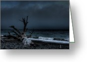 Swell Greeting Cards - The Storm Greeting Card by Matt Dobson