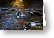 Sacred Earth Greeting Cards - The Subway Where Spirits Dwell Greeting Card by Bob Christopher