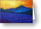 December Painting Greeting Cards - The Sugar Loaf - County wicklow Greeting Card by John  Nolan