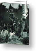 Torture Greeting Cards - The Sundance Greeting Card by Frederic Remington
