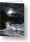 Islands Digital Art Greeting Cards - The Supreme Soul Greeting Card by Sharon Mau