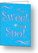 Sweet Spot Greeting Cards - The Sweet Spot Greeting Card by Cristopher