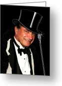 Black Tie Greeting Cards - The Swell Greeting Card by Jann Paxton