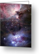 H Ii Regions Greeting Cards - The Sword Of Orion Greeting Card by Robert Gendler