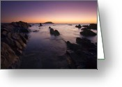 Sharp Teeth Greeting Cards - The Teeth of Twilight Greeting Card by Mike  Dawson