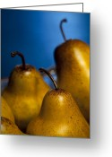 Indoor Greeting Cards - The Three Pears Greeting Card by Scott Norris