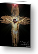 Good Friday Digital Art Greeting Cards - The Transformation Greeting Card by Michael Durst