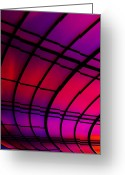 Pattern Greeting Cards - The Tunnel Greeting Card by Metro DC Photography