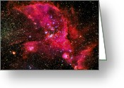 Twinkle Greeting Cards - The Universe Greeting Card by Trevor Kersley