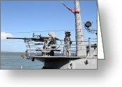 Submarines Greeting Cards - The USS Pampanito Submarine At Fishermans Wharf . San Francisco California . 7D14427 Greeting Card by Wingsdomain Art and Photography
