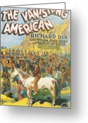 Motion Picture Greeting Cards - The Vanishing American Greeting Card by Nomad Art And  Design