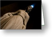 Virgin Maria Greeting Cards - The Virgin Mary Greeting Card by Joe Houghton