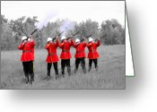 Uniforms Greeting Cards - The Volley Greeting Card by Al Bourassa