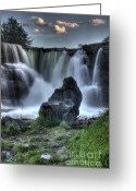 Sacred Earth Greeting Cards - The Watchman Greeting Card by Bob Christopher