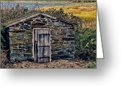 Fall Photographs Greeting Cards - The Water Shed Greeting Card by Tom Prendergast