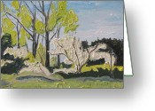 Contry Greeting Cards - The White Tree Sawyerville Quebec Canada Greeting Card by Francois Fournier