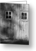 Window Panes Greeting Cards - The Windows are the Eyes to the Soul Greeting Card by Lauri Novak