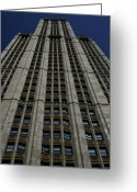 Woolworth Building Greeting Cards - The Woolworth Building Greeting Card by Christopher Kirby