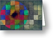 Paul Klee Greeting Cards - Their Latest Album Greeting Card by Diane montana Jansson
