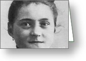 Personage Greeting Cards - Therese De Lisieux Greeting Card by Photo Researchers