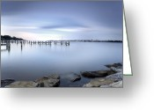 Second Photo Greeting Cards - These Waters Are My Canvas Greeting Card by Edward Kreis
