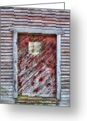 Poultry Photo Greeting Cards - Thieves Beware Greeting Card by JC Findley