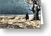 Landscape Greeting Cards - Thirty Pieces of Silver Greeting Card by Bob Orsillo
